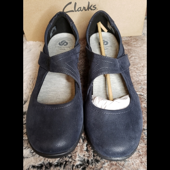 Clarks Navy Blue Cloudsteppers